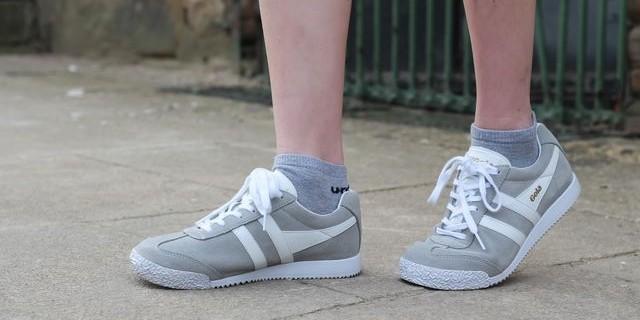 El zapato deportivo de Gola: comodidad y fascinación retro.