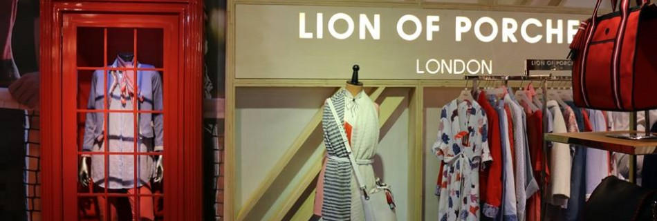 Lion of porches premio al mejor stand #MomadMetropolis 2017