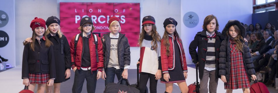 Lion of Porches en la Pasarela FIMI KIDS FASHION WEEK