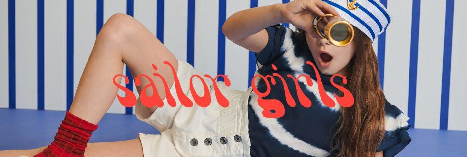 Dixie Girl y su colección SS21 para las chicas más aventureras: Sailor Girls